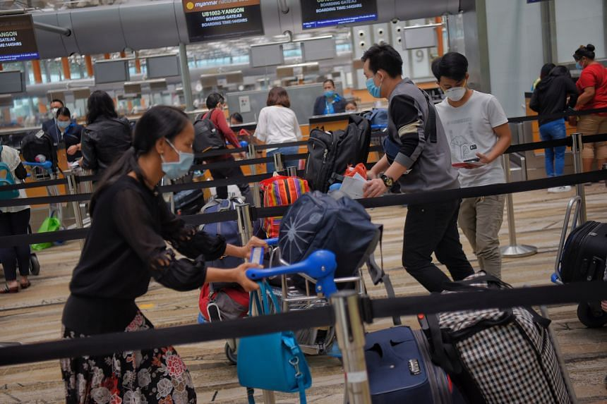 Travel concessions will be given to fully vaccinated travellers going overseas or returning to Singapore.