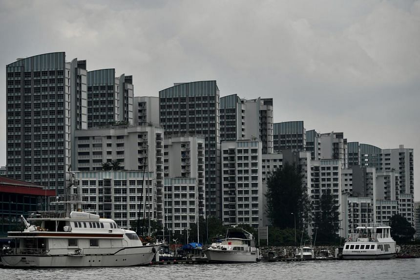 HDB flats in Punggol, with yachts and boats berthed at Marina Country Club. The census noted that about 78.7 per cent of households here live in an HDB flat. However, not all HDB flats are equal, says the writer. Some are more valuable due to locatio
