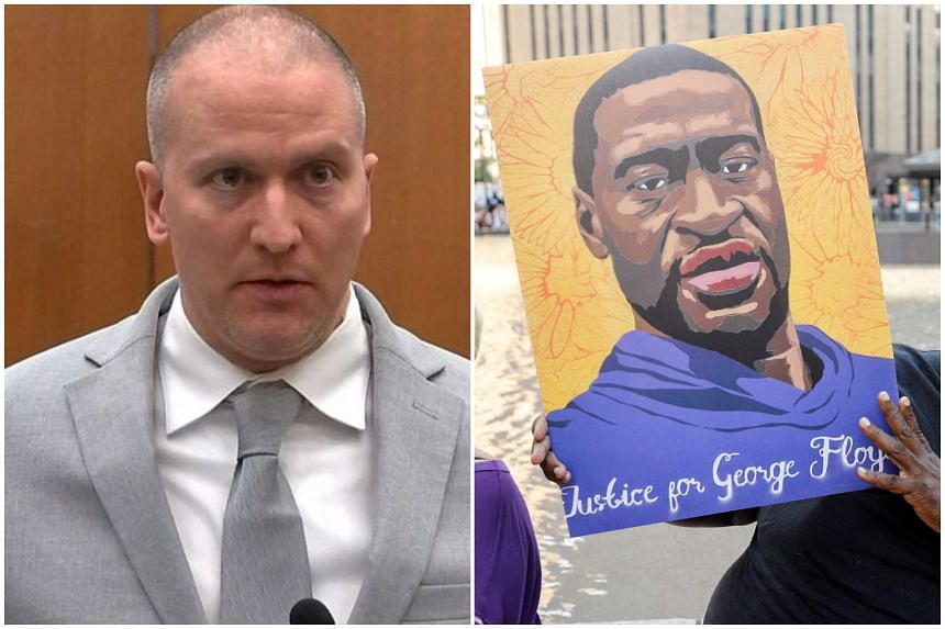 Derek Chauvin (left) was sentenced to 22½ years in prison for the murder of George Floyd during an arrest in May 2020.