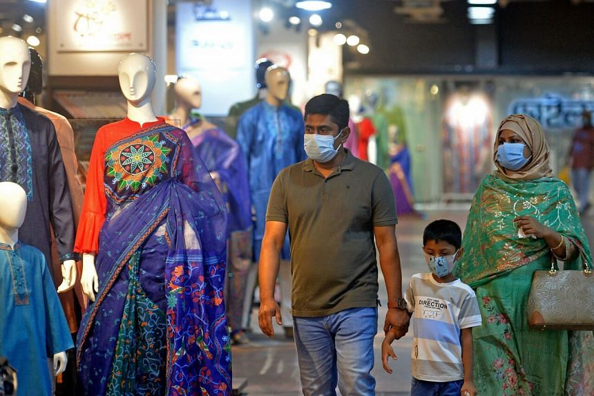 Infection rates have been rising sharply since mid-May in Bangladesh.