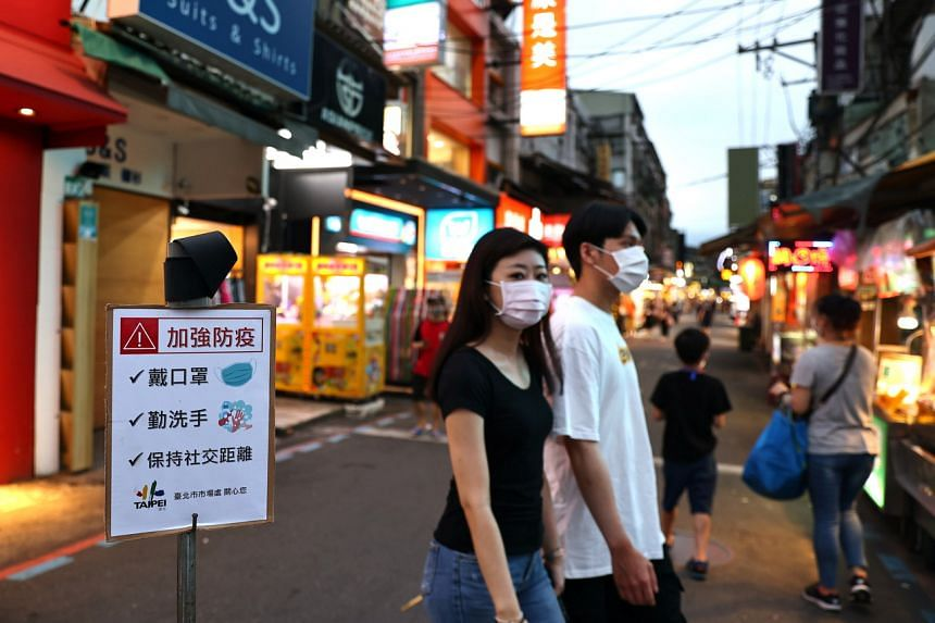 Taiwan is battling a cluster of domestic infections, though numbers are steadying.