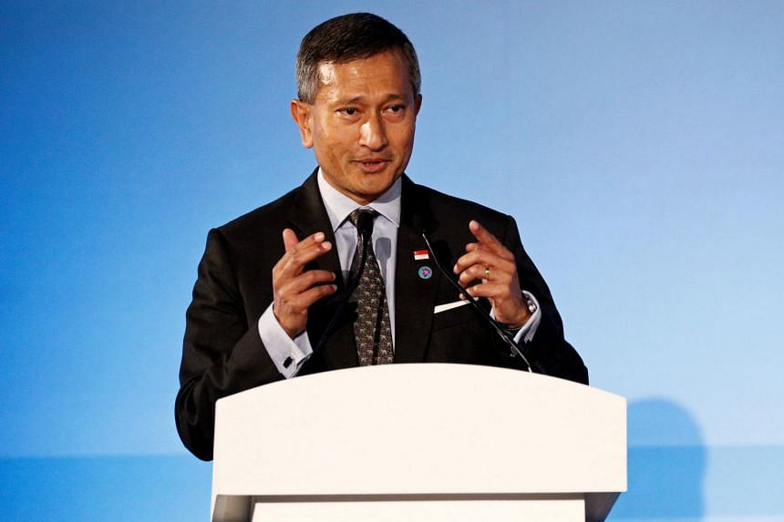 Foreign Minister Vivian Balakrishnan will be in Italy from June 27 to July 1.