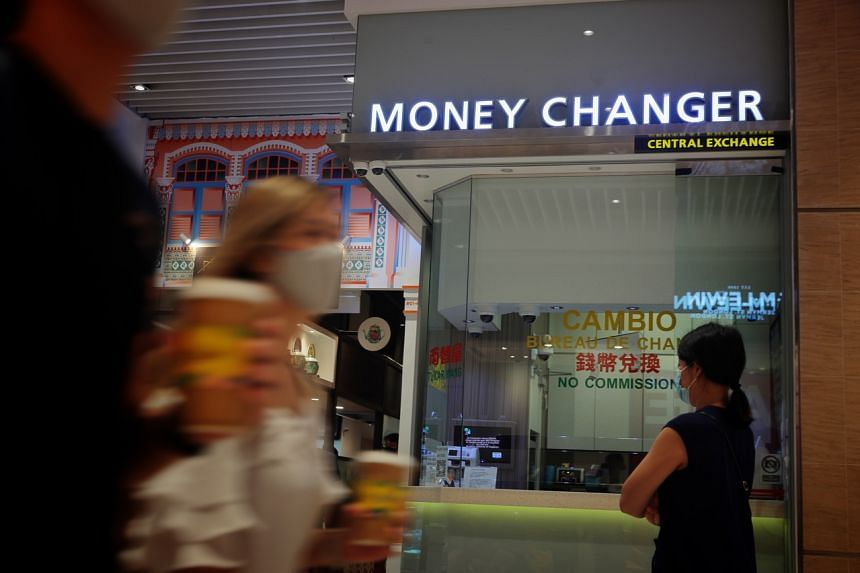 Mr Anwardeen, owner of Central Exchange Money Changer, said his business fell by 95 per cent during the pandemic.