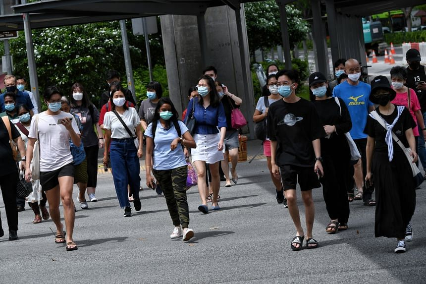 Of the 14 new coronavirus cases confirmed in Singapore, 12 are in the community and two are imported.