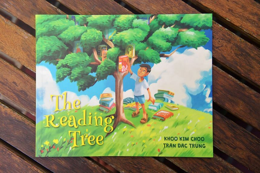 The Reading Tree is about the friendship between a boy and a talking tree.