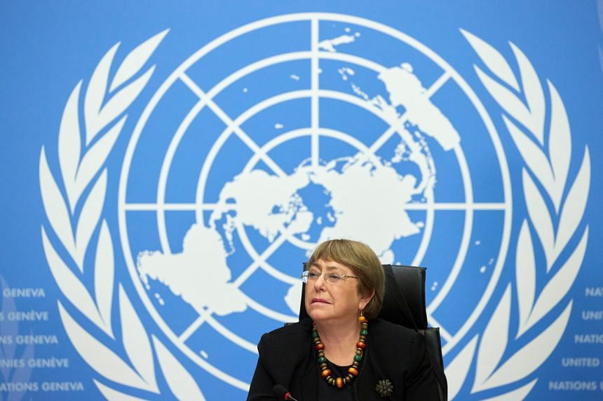 UN human rights chief Michelle Bachelet called on states to prosecute law enforcement officials for unlawful killings.