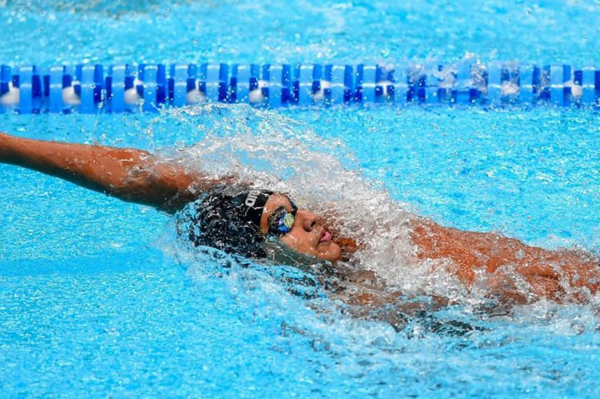Indian swimmer Srihari Nataraj broke two national records but fell 0.05 second short of the time that would have guaranteed him a place in the Tokyo Olympics.