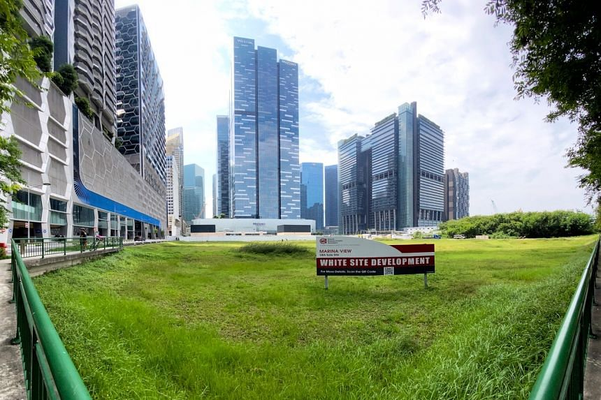 The Marina View site is located in the Central Business District, near the upcoming Shenton Way MRT station.