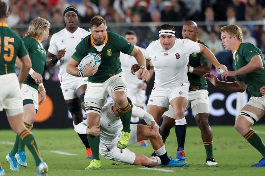 South Africa's Springboks will play the British and Irish Lions in three tests, but with no fans in the stadium.