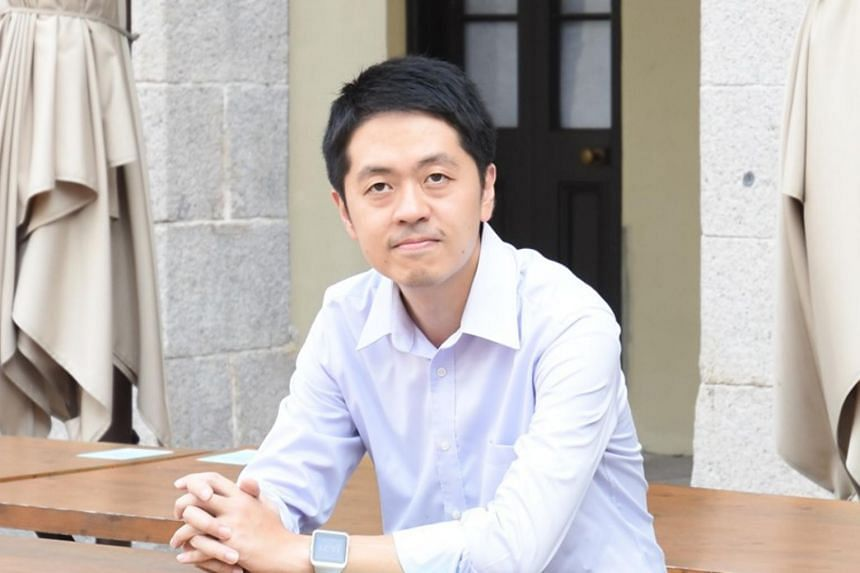 Former Hong Kong lawmaker Ted Hui is now in Australia.