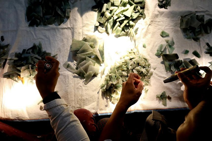 Myanmar is one of the world's biggest sources of jadeite and the industry is largely driven by insatiable demand for jade from neighbouring China.
