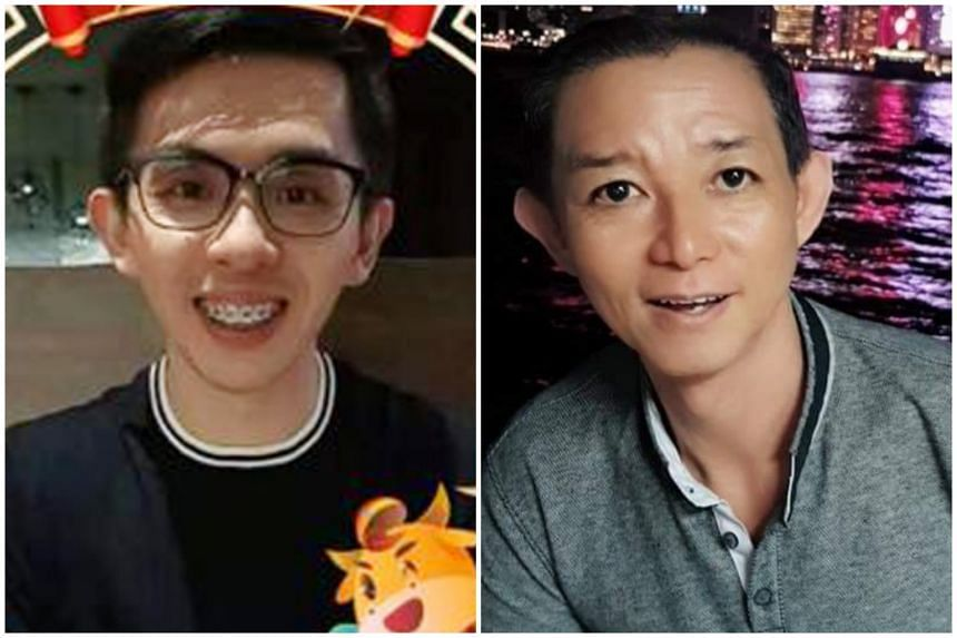 Huang Bocan (left), Lim Peng Tiong (right) and Chee Mei Wan had their charges upgraded to that of murder on June 29, 2021.