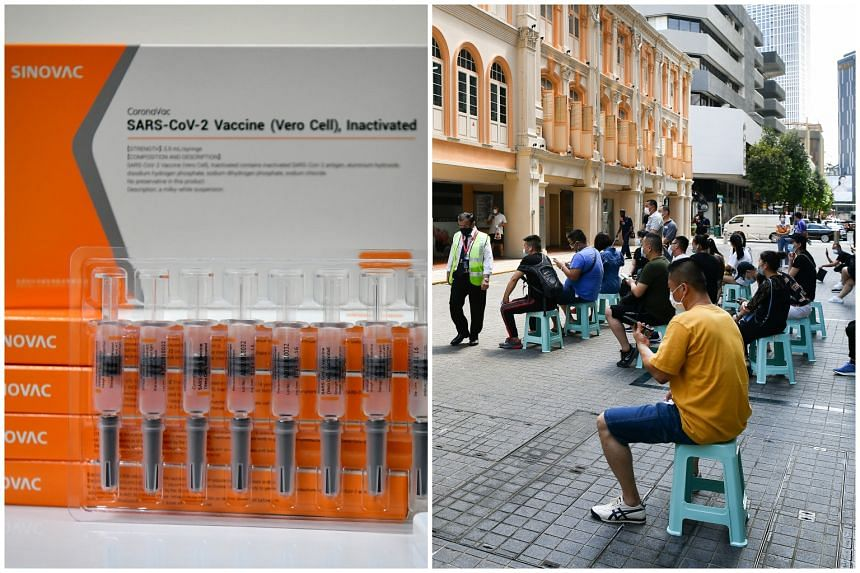 The authorities gave approval last month to 24 private healthcare clinics to draw on the Government's existing stock of Sinovac vaccine.