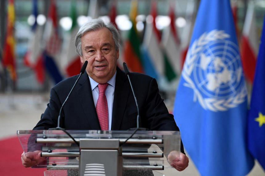 Mr Antonio Guterres' appeal to Washington comes amid talks to revive the Joint Comprehensive Plan of Action.