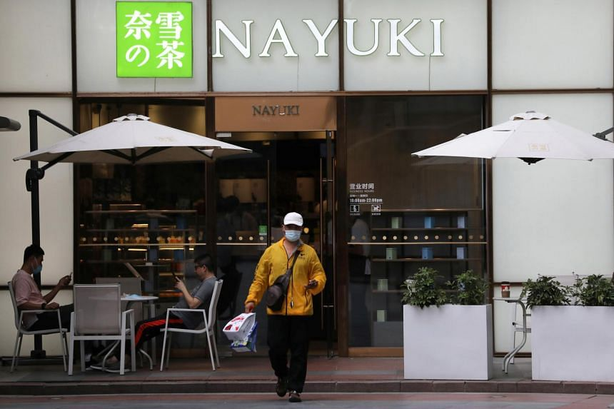 A Nayuki outlet in Beijing. The firm plans to use cash from the initial public offering to open 650 stores this year and next.