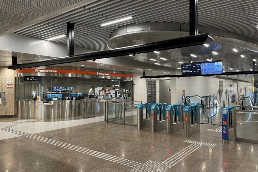 Lentor station. When TEL is fully completed, more than 240,000 current and future households will be within a 10-minute walk from a station along the line