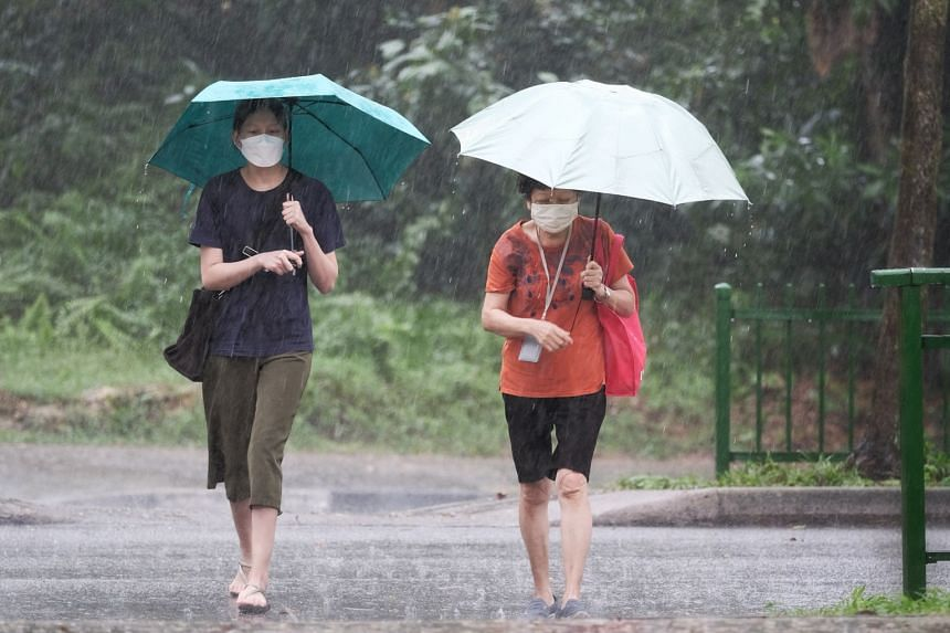 Short-duration thundery showers have been forecast for the first week of July.