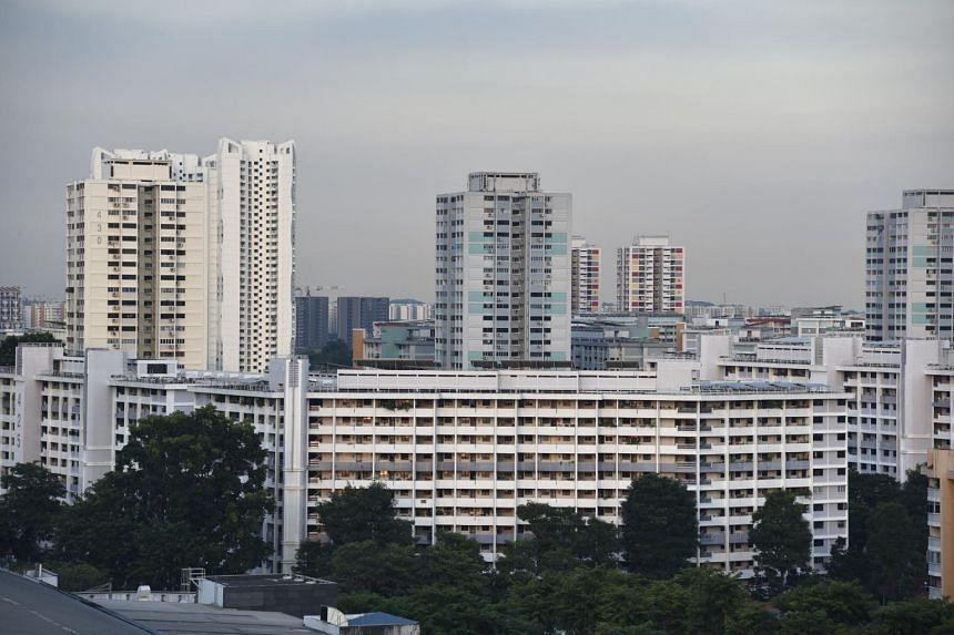 Year on year, HDB resale prices were up by 10.8 per cent.