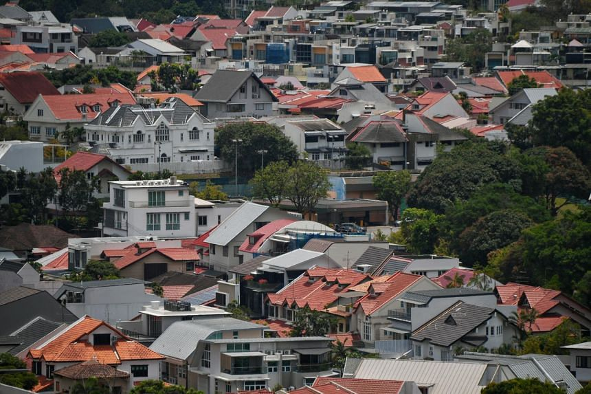 Prices of landed properties edged up only 0.8 per cent in the second quarter.