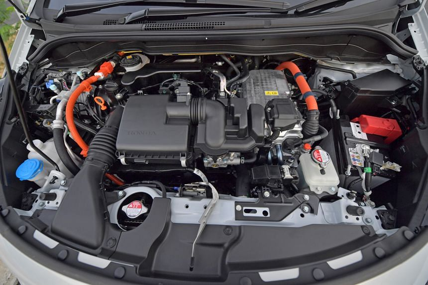 The high-compression engine of the Jazz 1.5 e-HEV has a lot more torque than its non-hybrid twin as well as its predecessor.