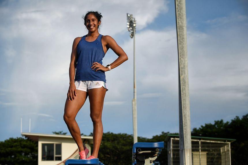 Sprinter Shanti Pereira will compete in the women's 200m in Tokyo.