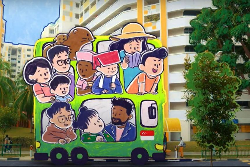 The music video was directed by film-maker Huang Junxiang and animation film-maker Jerrold Chong.