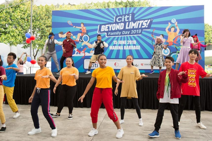Citi showcased the talents of youth supported under The Business Times Budding Artists Fund during its Global Community Day campaign in 2019.