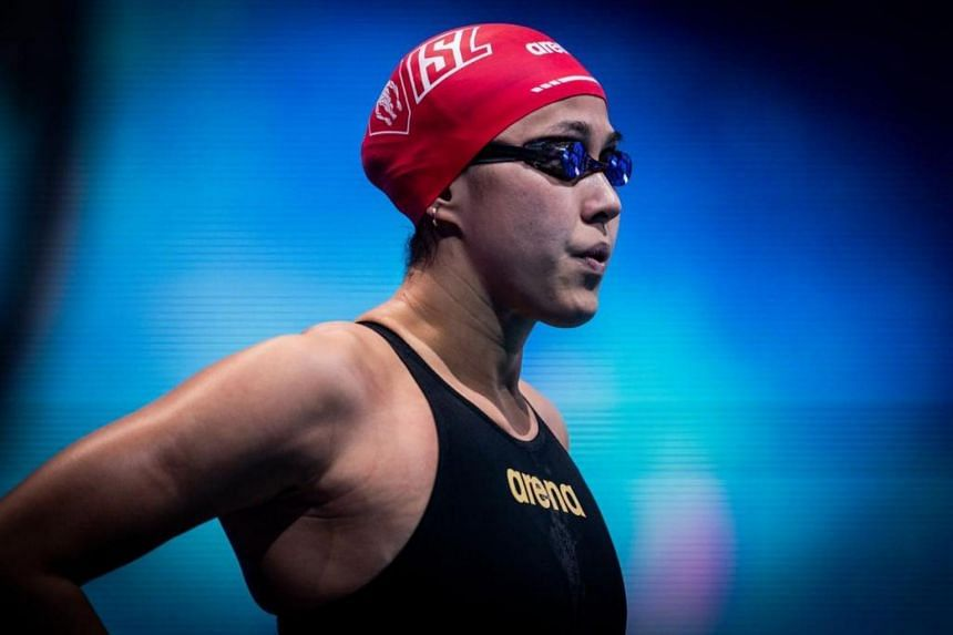 Quah Ting Wen qualified by virtue of being the highest ranked athlete based upon the Fina points table achieved by June.
