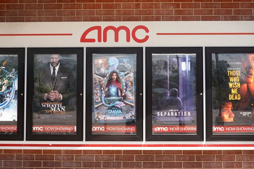 The stock price of beleaguered movie theatre chain AMC recently went up by over 70 per cent.