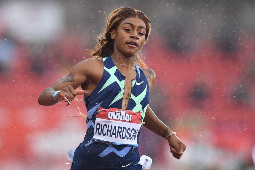 The women's 100m event at the Tokyo Olympics starts on July 30, two days after Sha'Carri Richardson's ban ends.