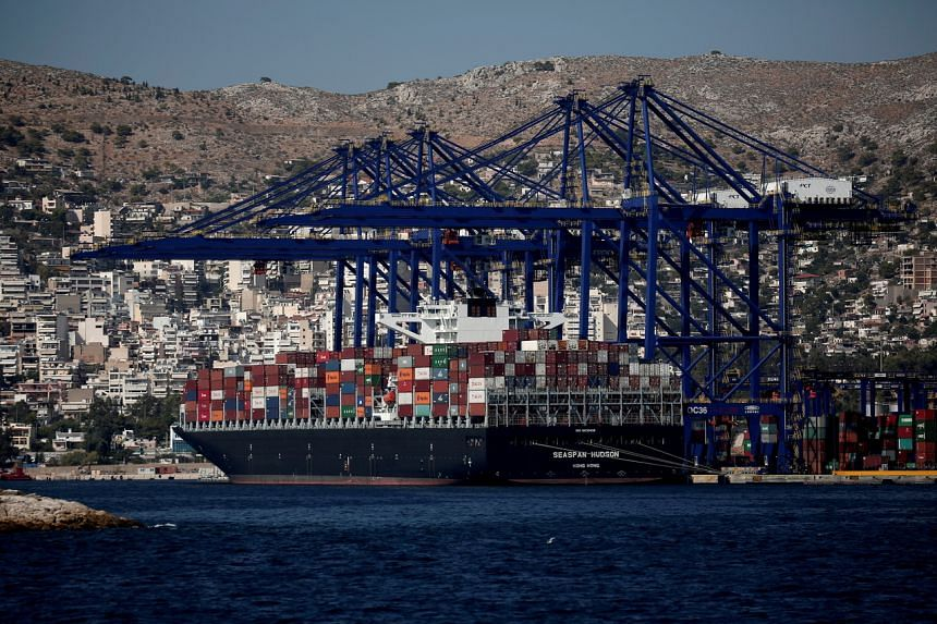 Container shipping prices have reached record highs.