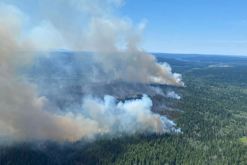Roughly 1,000 people have fled the wildfires in British Columbia, with many others still missing.