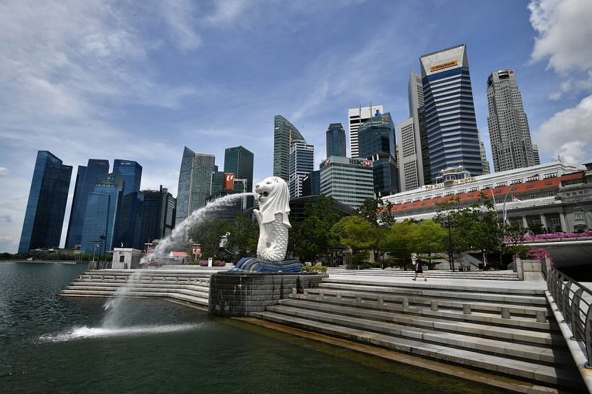 Singapore's operating revenue is projected to decrease by $100 million compared to estimates presented in February.
