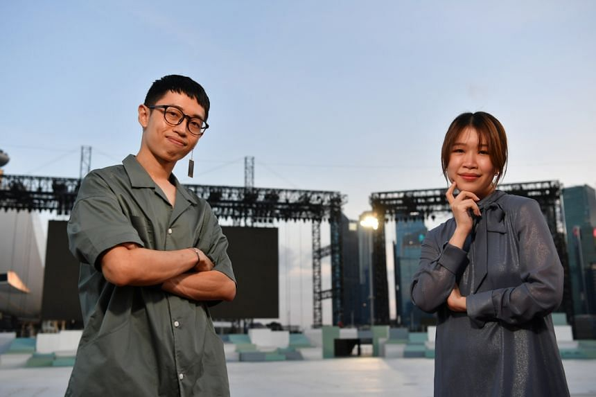 Music producer Evan Low and singer-songwriter Linying said the positive reception to their NDP composition has been heartening.