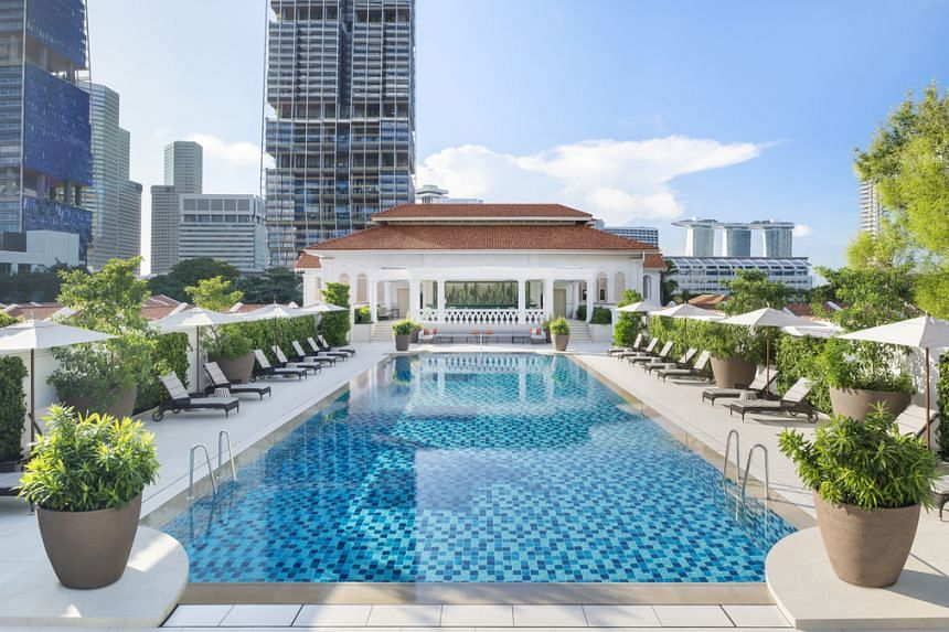 DayAway worked with Raffles Hotel Singapore to create the Sunrise Spa and Swim package.