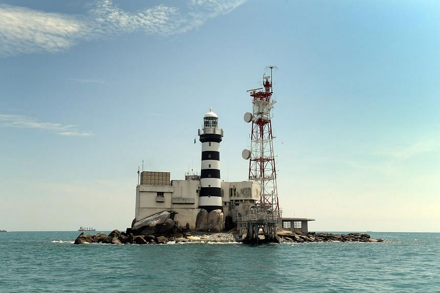 Land reclamation works will be carried out within 0.5 nautical miles of Pedra Branca and in Singapore territorial waters off the island.