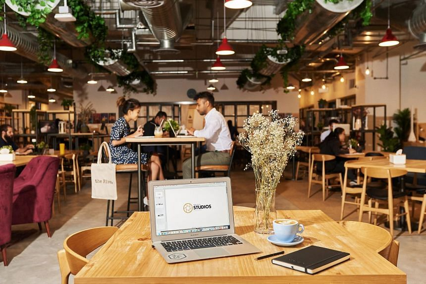 At the Hive in Carpenter Street, a $30++ day pass gets you a hot desk, access to phone booths and free-flow coffee from the pantry.