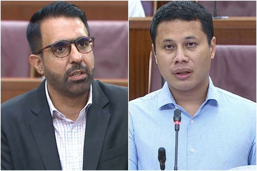Leader of the Opposition Pritam Singh and National Development Minister Desmond Lee debated on the policy in Parliament on July 5, 2021.
