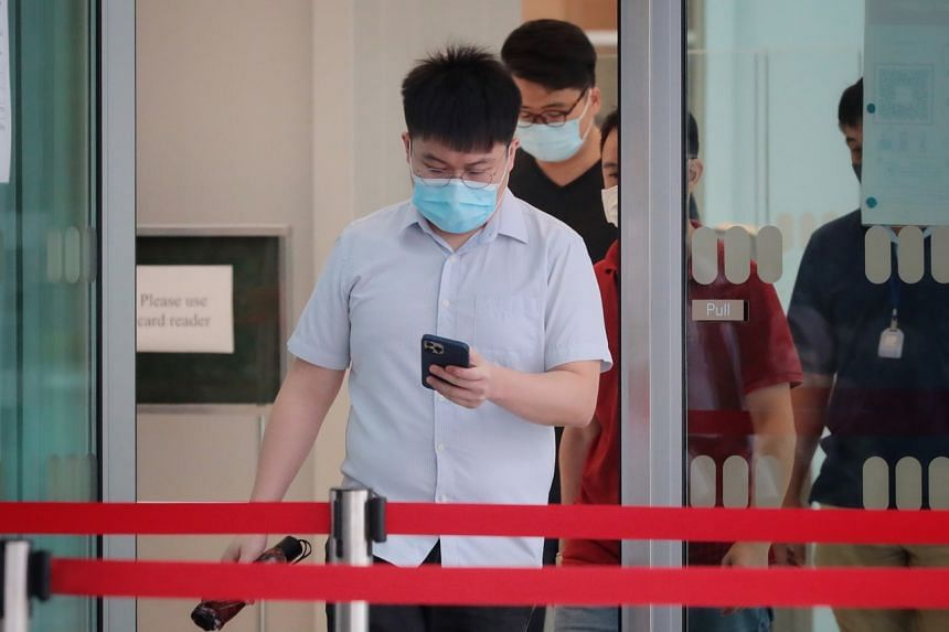 Xie Danpeng pleaded guilty in a district court on July 5 to two counts of sexual exposure.