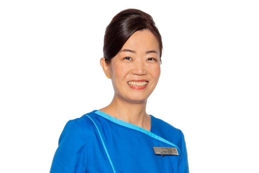 """Ms Fu Yongxin is """"very excited"""" about receiving the award, and is glad to have her hard work recognised."""