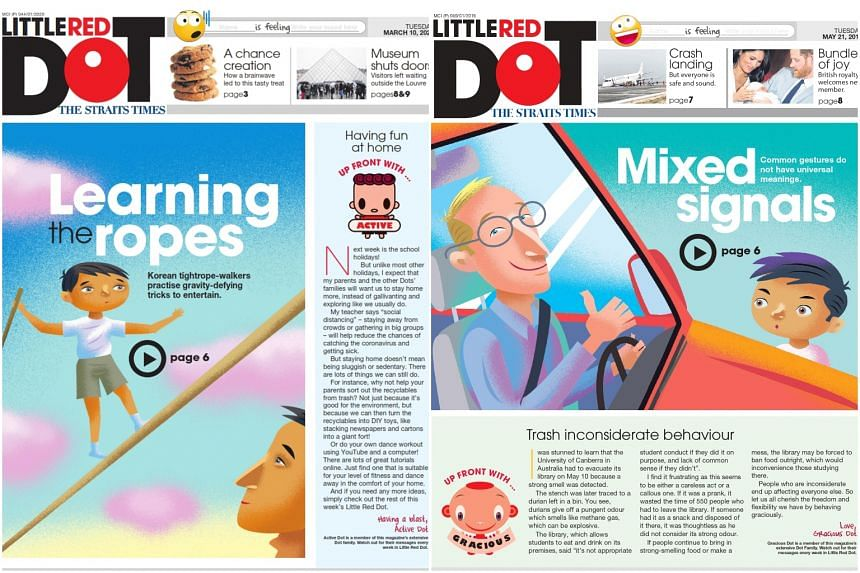 Little Red Dot received a gold Journalism Award, one of the categories in the 2021 Global News & Youth Media Prize.