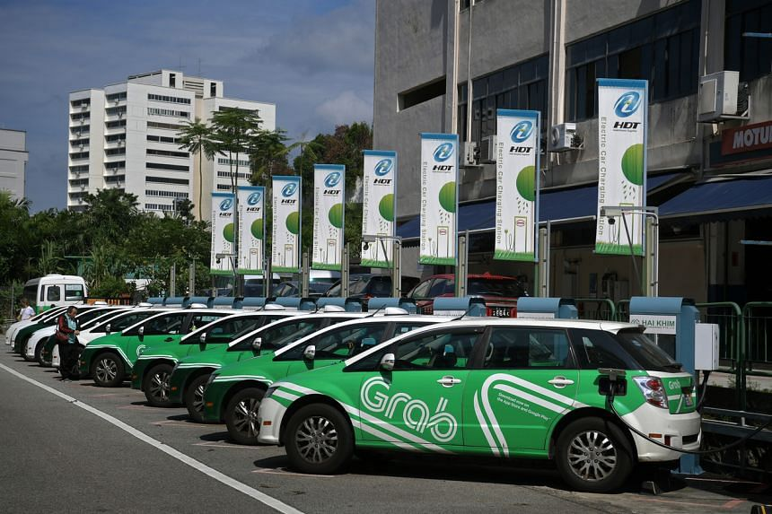 The JustGrab Green service will comprise electric or hybrid vehicles.