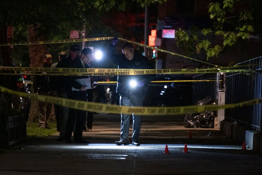 The New York City police have recorded more than 1,500 shootings last year, nearly almost twice as many as in 2019.