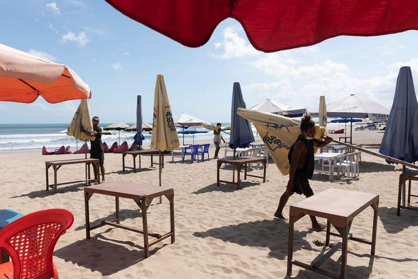 Occupancy at hotels across Bali averaged just 20 per cent in June.