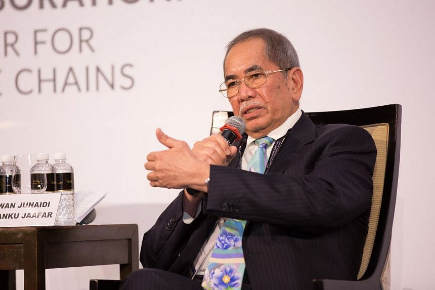 The ministry of Entrepreneur Development and Cooperatives Minister Wan Junaidi Tuanku Jaafar (above) announced grim results from a survey conducted at the height of Malaysia's Covid-19 lockdown in June.