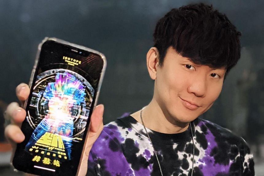 JJ Lin also launched a Sanctuary mobile app for the concert.