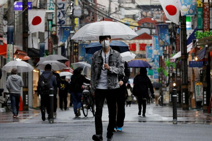 Spectators are reportedly likely to be barred from all competition venues in Tokyo (above) and three surrounding areas.