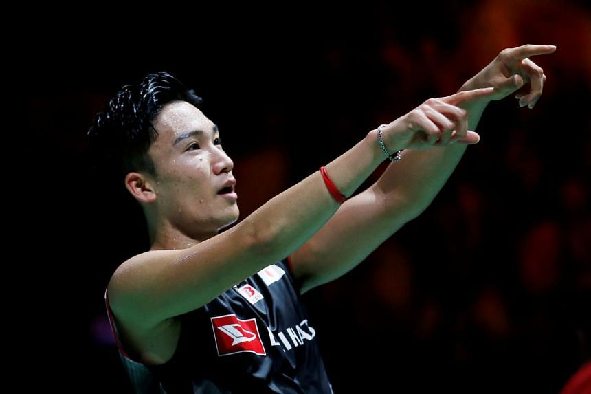 Momota made his comeback at the Japanese national championships in December after almost a year out.