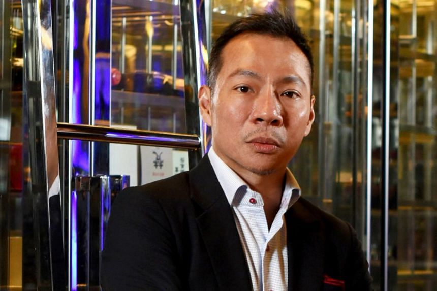 Mr Terence Loh has total outstanding debts of about $70 million with five banks.