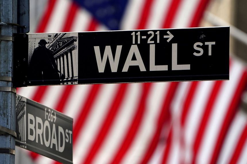 The Dow Jones Industrial Average dropped 0.8 per cent to 34,421.93.